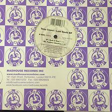 "Tony Lionni - Lost Souls EP 12"" Vinyl Record"