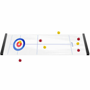 Curling Game Table Top Families Children Parents Olympic Sports Game Party Gift
