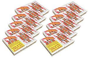20x 32 Blatt Senioren-Skatkarten | Französisches Bild | Spielkarten Skatblatt
