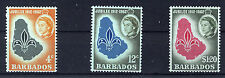 BARBADOS 1962 GOLDEN JUBILEE BLOCKS OF 4 MNH