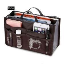 13 Pocket Bag in Bag Travel Insert Handbag Tote Makeup Organizer Purse Pouch