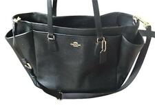 $500 BRAND NEW COACH Multifunction Crossgrain Leather Black Diaper Bag