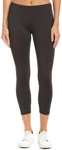 HUE 169561 Womens Fashion Casual Cotton Skimmer Leggings Black Size Medium