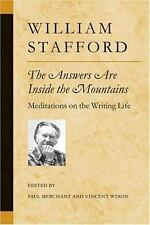 Poets on Poetry: The Answers Are Inside the Mountains : Meditations on the Writi
