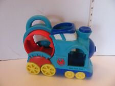 Hasbro Playskool 2011 Weebles Wobbles Musical train with handle Tested Works