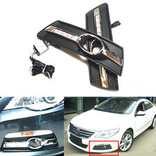 Pair of LED Daytime Running Lamp DRL with Grill For VW Passat CC 2010 2011 2012