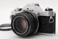 """""""Near Mint"""" Pentax MX Silver Film Camera Body w/ SMC M 50mm F/1.4 Lens D655"""