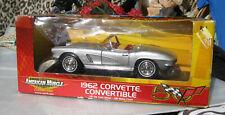 1962 Silver Corvette American Muscle Model Car Brand NEW IN BOX 1:18 Scale Vette