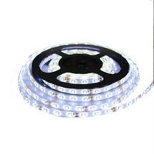 12V Waterproof LED Strip Light 5M 60 LEDs For Boat Truck Car Suv Rv White CHIC