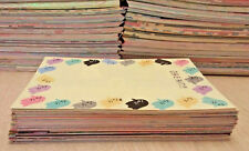 Kawaii Large Memo Sheet 100 Lot san-x Kamio Mind Wave Q-lia Crux + BONUS LOOK