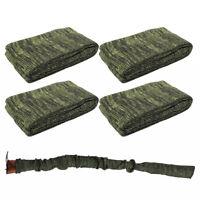 4 Pcs Green Gun Sock Silicone Treated Rifle Shotgun Gun Sleeve Cover Case Sack