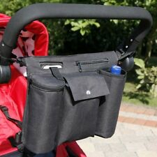 Pushchair/Buggy/Stroller  Organiser Bag Fits Bugaboo Cameleon, Bee, ICandy etc