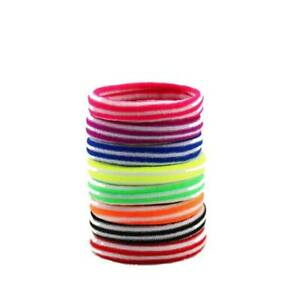Scrunchies Elastic Headband Hair Band Seamless Small 10 Article Candy Color KY
