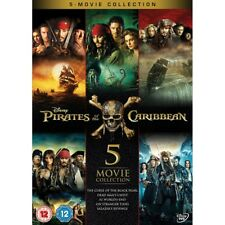 Pirates of The Caribbean 5 Movie Collect DVD