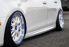RLD Seitenschweller Schweller Sideskirts ABS für VW Caddy 2 9KV