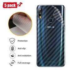 Back Screen Protector Film Asus Zenfone Max Pro M2 Carbon Fiber Sticker Skin 631