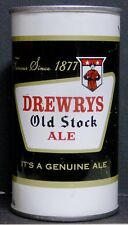 1960's Drewrys Old Stock Ale Zip Tab Can - South Bend, IN - Empty