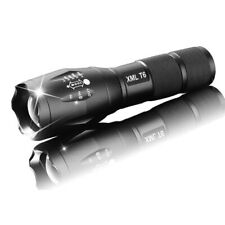 Hot 50000LM T6 Tactical Military LED Flashlight 18650 Torch Zoomable 5 Mode