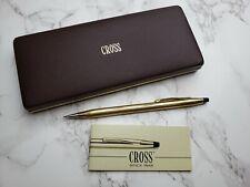 Vintage Cross Pencil 10k 1/20 Gold Filled