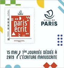 France 2019 Collector International Paris'écrit + Carte Postal MNH / Neuf**