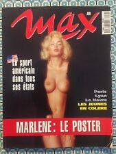MAX French Juin 1994 Marlene poster Shaquille O'neal Wayne Gretzky Emmitt Smith