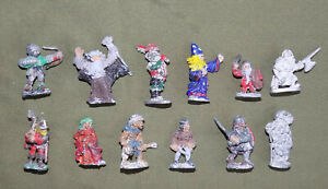 Preslotta Lead 25mm Grenadier Vintage Advanced Dungeons & Dragons Character Lot