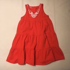 CARTER'S girls dress - girls size 6 - pink/floral