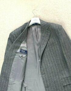 STUNNING Men's POLO RALPH LAUREN Sport Wool Blazer Jacket Coat Suit EU 54 UK 44