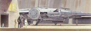 Star Wars gift ideas Wall decor Panoramic Wall Mural Wallpaper 144x50 in Falcon