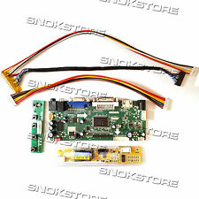 HDMI VGA DVI AUDIO LCD CONTROLLER BOARD DIY MONITOR KIT G150XG03 V2 1024X768 NEW