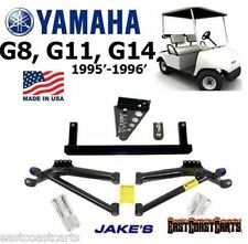 "Yamaha Golf Cart G14, G11, G8 JAKES 6"" A-Arm LIFT KIT #6252 (Free Shipping)"