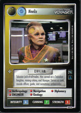 STAR TREK CCG VOYAGER RARE CARD NEELIX (non aligned)