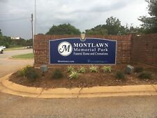 2 Burial Plots Montlawn Memorial Park Raleigh, NC Section 12, 156c 3 and 4