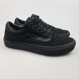 Women's VANS Sz 7.5 US Shoes Black VGCon Skate Canvas Casual | 3+ Extra 10% Off