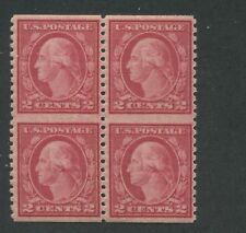 1919 Stamp #540a Mint Never Hinged Very Fine Original Gum Block of 4