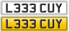 LUCY NUMBER PLATE PRIVATE STYLE, STE, MISS LUCY LEE LUCIY LEECY - REG L333 CUY