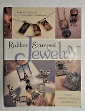 Rubber Stamped Jewelry Design At Your Fingertips. 20 Wearable Art Projects Photo