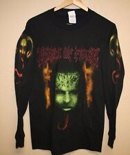 CRADLE OF FILTH Eve Pleaser Longsleeve t-shirt mens Small S Metal Goth Band Tour