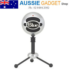 USB Microphone Blue Snowball Audio for PC MAC Professional Mic Aluminium Gaming