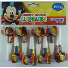 DISNEY MICKEY MOUSE BLOWOUTS PACK OF 8 BIRTHDAY PARTY NOICE MAKERS