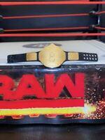 WWE Mattel Action Figure Accessory WCW World Heavyweight Title Belt