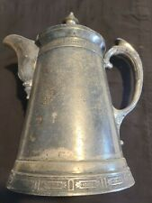 """Meriden Company Silverplate Large Water Pitcher 13""""tall"""