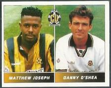 PANINI FOOTBALL LEAGUE 95 -#423-CAMBRIDGE UNITED-MATTHEW JOSEPH / DANNY O.SHEA