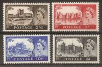 GB 1967 Castles Stamps to £1~4 Values ~BW~759-762~Unmounted Mint~UK Seller