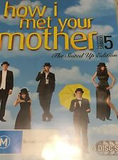 How I Met Your Mother the Complete Fifth Season 3-Disc Set Region 4 DVD VGC