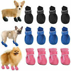 Small Dog Cat Anti Slip Shoes Pet Puppy Mesh Breathable Booties Protective Socks