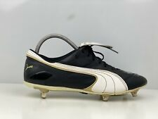 Puma Mens Black Vintage Football Boot UK Size 7