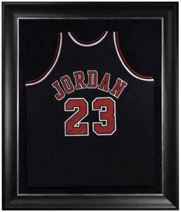 """MICHAEL JORDAN Autographed Bulls """"2009 HOF"""" Authentic Black Jersey UDA LE 123"""