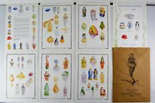 """Patricia Breen 1998 Collector Cards 8.5"""" x 11.5"""" 7 Cards New"""