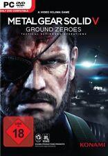 Metal Gear Solid V: ground Zeroes (PC, 2015 sólo Steam key descarga código) no DVD